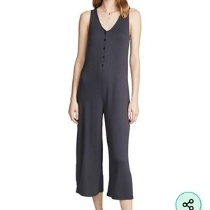 Z Supply Mojave Jumpsuit in Washed Black